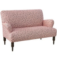 Skyline Furniture Pardo Blush Fabric Modern Loveseat