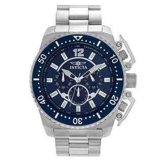 Invicta Men's 'Pro Diver' 21953 Stainless Steel Chronograph Link Watch