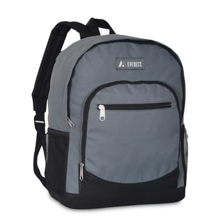 Everest Casual 16.5-inch Backpack With Side Mesh Pocket