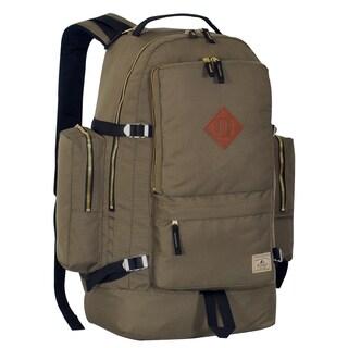 Everest Blue/Black/Green Polyester 19.8-inch Daypack with Laptop Pocket