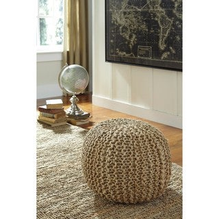 Signature Design by Ashley Dilip Natural Pouf