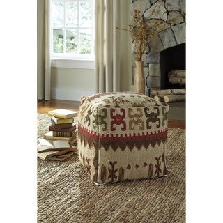 Signature Design by Ashley Aarav Multi Pouf