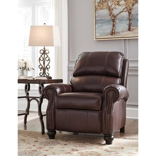 Signature Design by Ashley Glengary Chestnut Low Leg Recliner