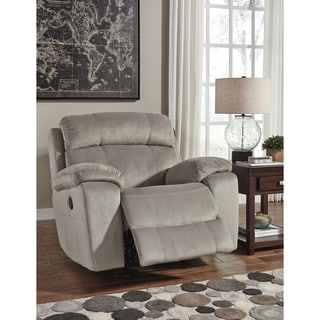 Signature Design by Ashley Uhland Granite Power Recliner with Adjustable Headrest