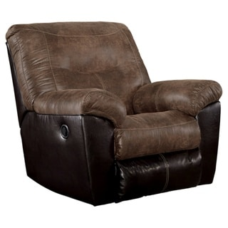 Signature Design by Ashley Follett Coffee Rocker Recliner