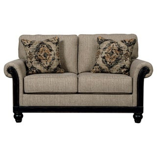 Blackwood Traditional Taupe Loveseat