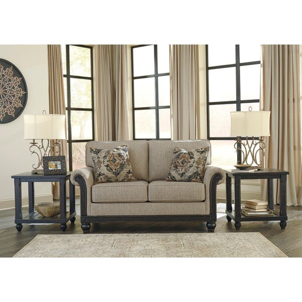 Shop Signature Design By Ashley Blackwood Taupe Loveseat