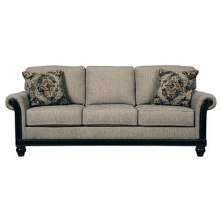 Signature Design by Ashley Blackwood Taupe Sofa