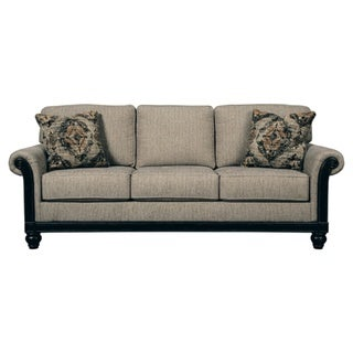 Blackwood Traditional Taupe Queen Sofa Sleeper