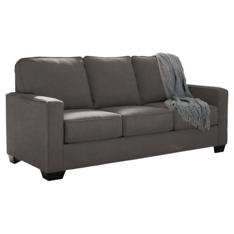 Zeb Charcoal Full Sofa Sleeper Minimalist Design
