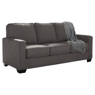 Signature Design by Ashley Zeb Charcoal Full Sofa Sleeper