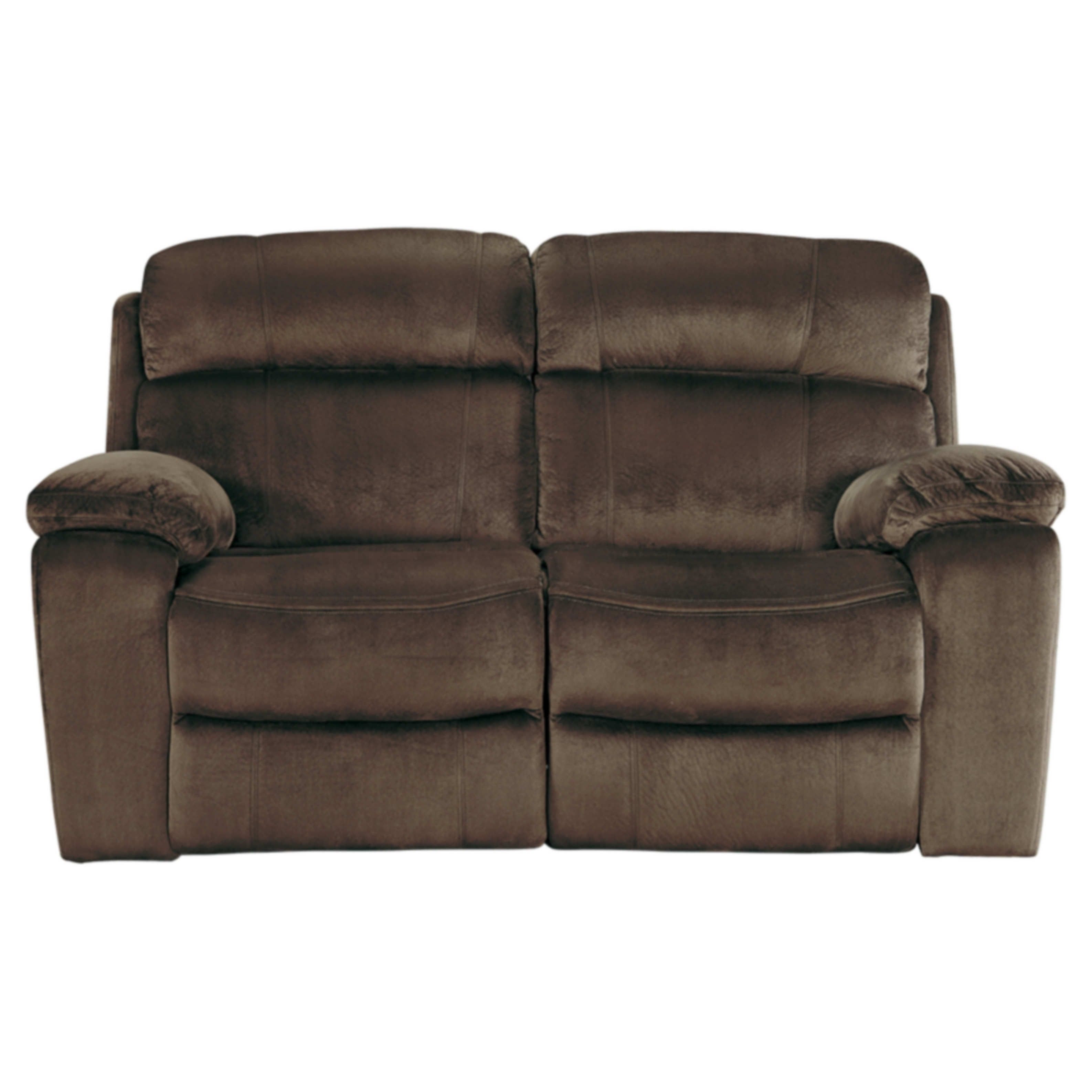Ashley Uhland Chocolate Power Reclining Loveseat with Adj...
