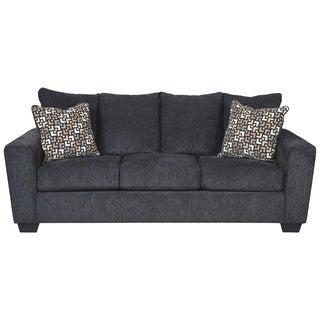 Signature Design By Ashley, Wixon Contemporary Slate Sofa