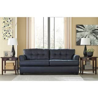 Signature Design by Ashley Inmon Navy Sofa. Signature Design by Ashley Sofas  Couches   Loveseats For Less
