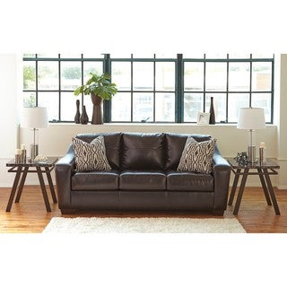 Signature Design by Ashley Coppell DuraBlend Chocolate Sofa