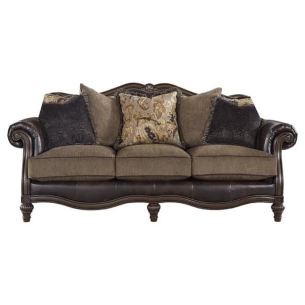 Phenomenal Shop Winnsboro Faux Leather Vintage Sofa On Sale Free Cjindustries Chair Design For Home Cjindustriesco