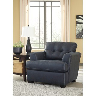 Signature Design by Ashley Inmon Navy Chair