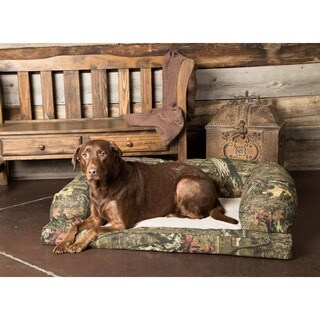 Hidden Valley Baxter Mossy Oak Camo Fleece Small- to Extra-large Dog Couch
