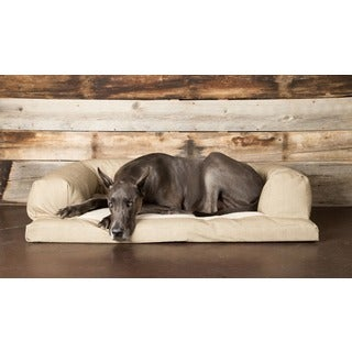 Hidden Valley Baxter Houndstooth Small to Extra-Large Fleece Dog Couch