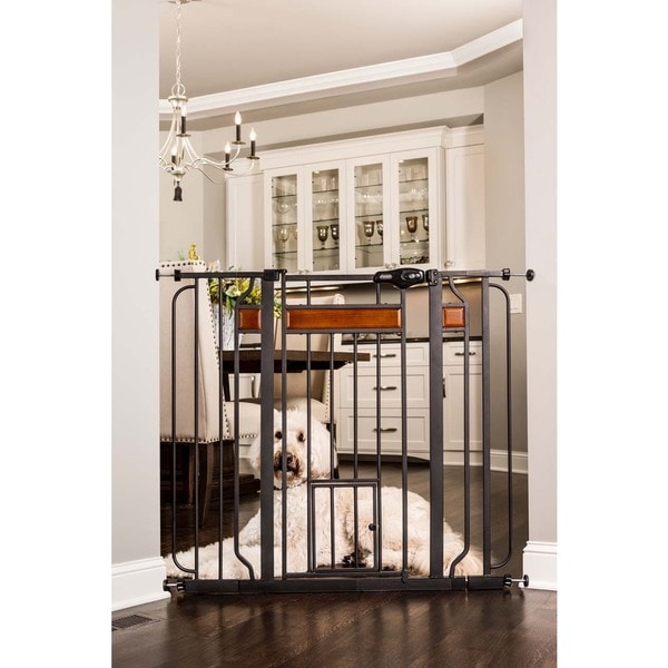 Shop Carlson Pet Products Design Paw Extra Tall Pet Gate Free