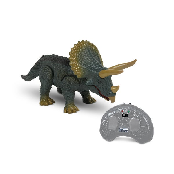 World Tech Toys Remote Control Infrared Triceratops Toy