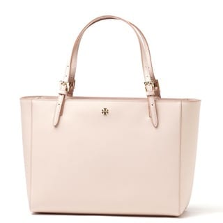 Tory Burch York Light Oak Buckle Tote