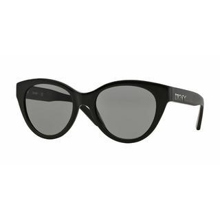 DKNY Women DY4135 368887 Black Plastic Cat Eye Sunglasses