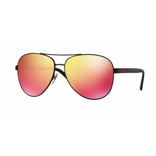 DKNY Women DY5084 12336Q Black Plastic Cateye Sunglasses
