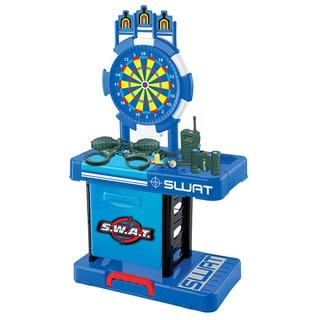 World Tech Toys Kids' S.W.A.T. Plastic Convertible Playset (15-piece Set)