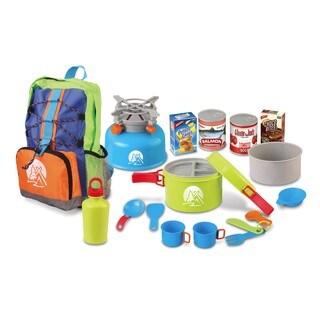 World Tech Toys Outdoor Explorer 15-piece Camping Playset