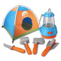 World Tech Toys Outdoor Explorer 6-piece Camping Playset