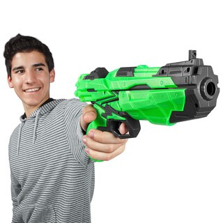 World Tech Warriors Havoc Glow-In-The-Dark Dart Blaster