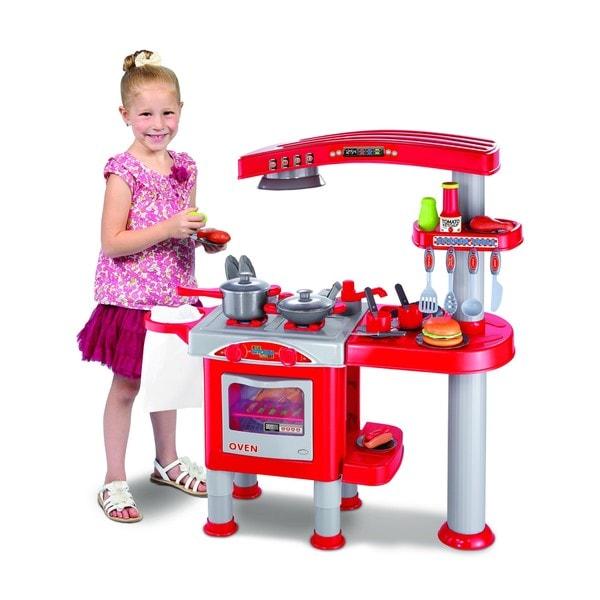 World Tech Toys Kid's Kitchen 40-piece Playset