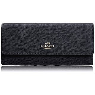 Coach Soft Crossgrain Soft Leather Wallet