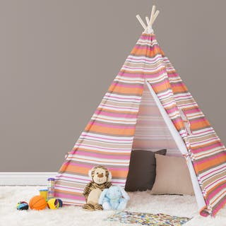 Hey! Play! Indoor/Outdoor Kids Teepee|https://ak1.ostkcdn.com/images/products/13517328/P20199635.jpg?impolicy=medium