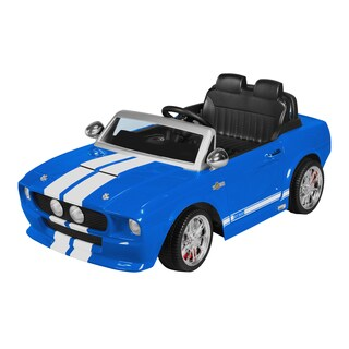12 Volt Ride-on Blue 1967 Shelby Mustang GT 500