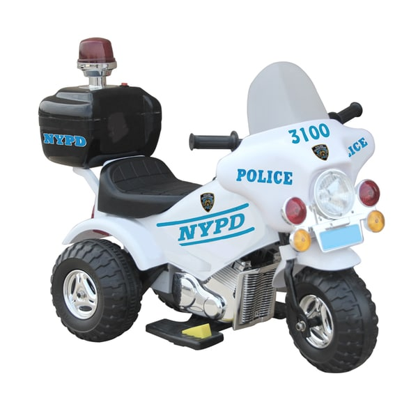 Giggo Toys 6V Battery Powered NYPD Motor Bike