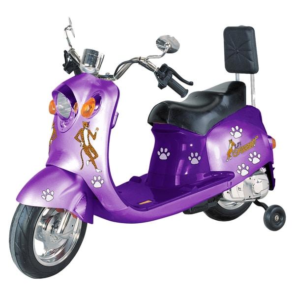 Li'l Skootah 6V Battery Powered Purple Scooter
