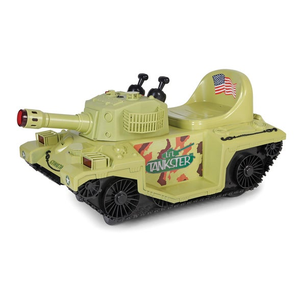 Giggo Toys Li'l Tankster 6V Battery Powered Tank