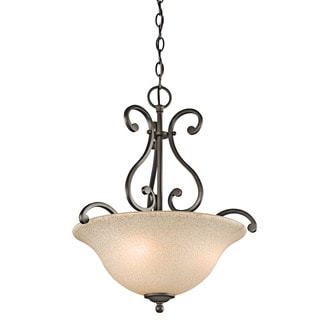 Kichler Lighting Camerena Collection 3-light Olde Bronze Pendant
