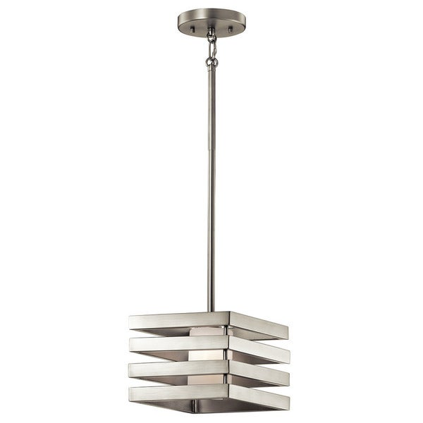 Kichler Lighting Realta Collection 1 Light Brushed Nickel Halogen Mini Pendant Free Shipping