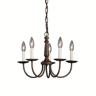 Kichler Lighting Salem Collection 5-light Tannery Bronze Mini Chandelier