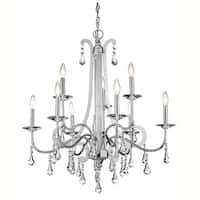 Kichler Lighting Leanora Collection 9-light Chrome Chandelier