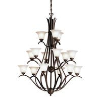 Kichler Lighting Dover Collection 15-light Tannery Bronze Chandelier