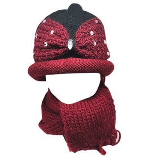 Kate Marie 'woad' Women's Beanie and Scarf Set