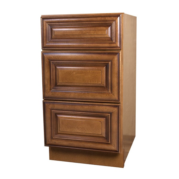 Shop Sedona Chestnut Maple Drawer Base Cabinet