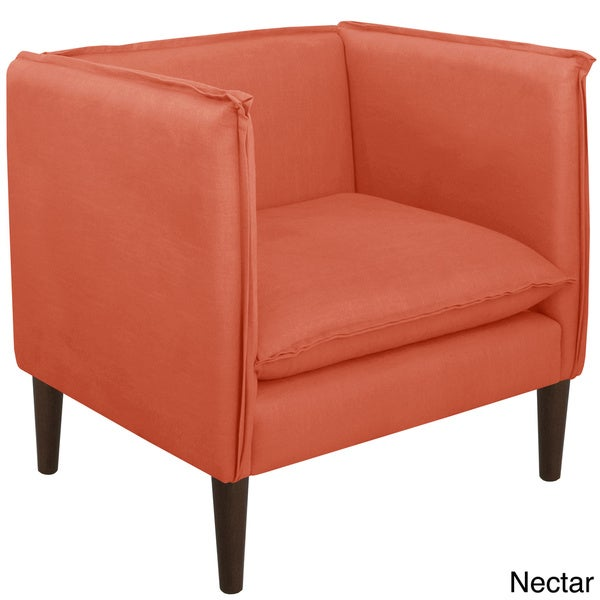 Skyline Furniture Linen Fabric Modern Accent Chair   Free Shipping Today    Overstock.com   20200893