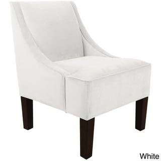 Skyline Furniture Velvet Fabric Accent Chair