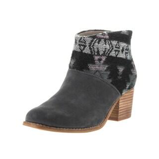 Toms Women's Leila Grey Suede Boots