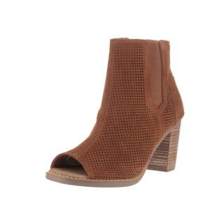 Toms Women's Majorca Peep Toe Casual Shoe